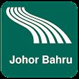 Johor Bahru Map offline