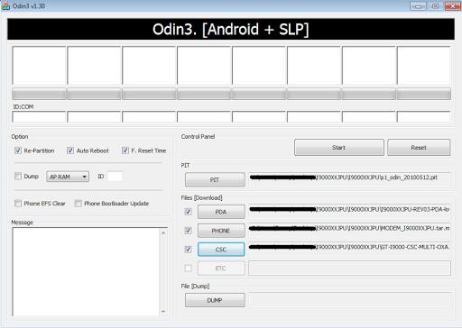 OdinDownloadHelper for Samsung 3.17 screenshots 2