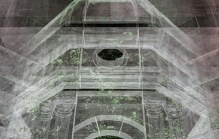 Reti Metalliche Architettura.Archetipo La Nuova Opera Di Edoardo Tresoldi