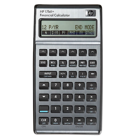 Kalkylator HP-17BII+