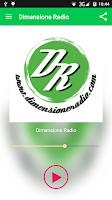 Screenshot of Dimensione Radio