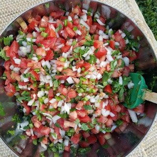 Fresh Pico De Gallo.