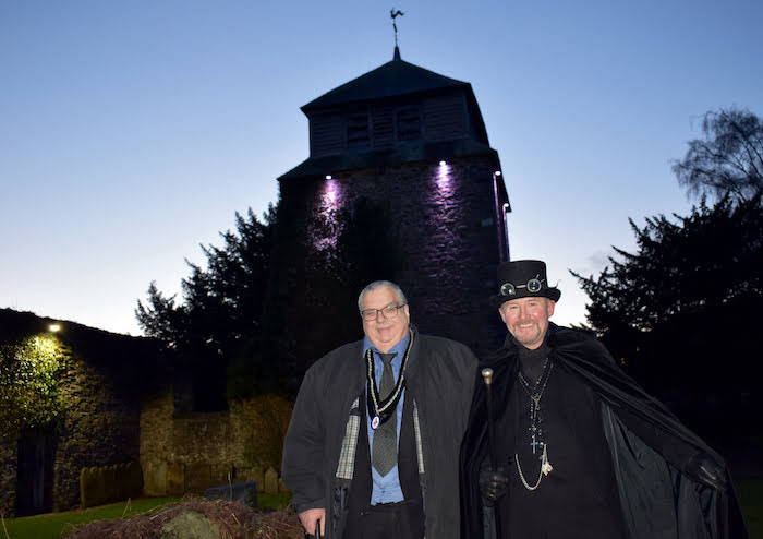 New lighting switched on at St Mary's Church