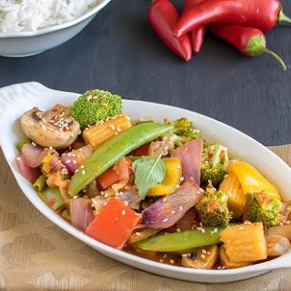 Vegetables in Chili Garlic Sauce