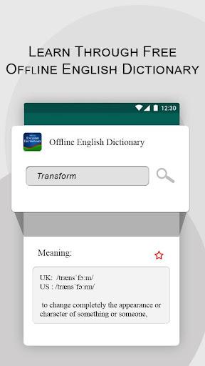 Offline English Dictionary  screenshots 5