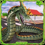 Furious Anaconda Dragon Snake City Rampage