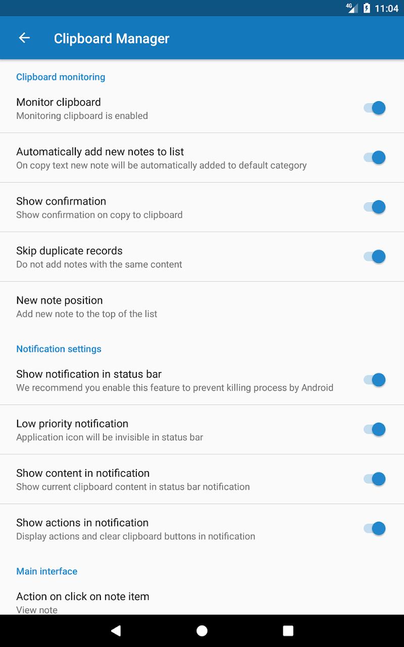 Clipboard Manager Pro Screenshot 12