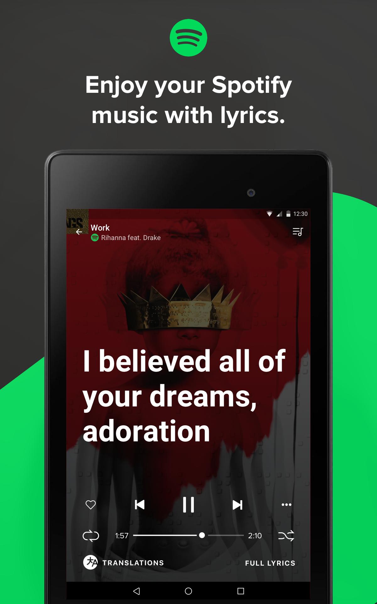 Musixmatch - Lyrics & Music screenshot #12