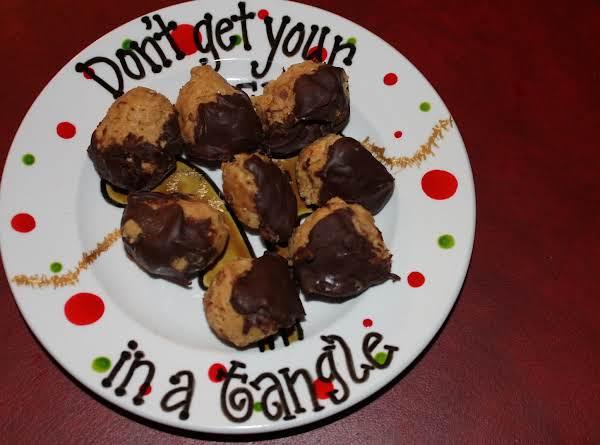 Peanut Butter Krispie Balls Recipe