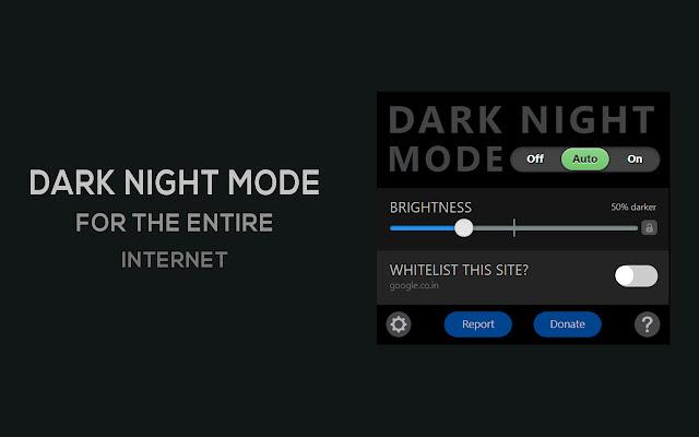 Dark Night Mode