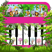 Jungle and Animals Kids Piano APK