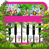 Tải Jungle and Animals Kids Piano miễn phí