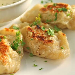 Potato and Cheese Pierogis.