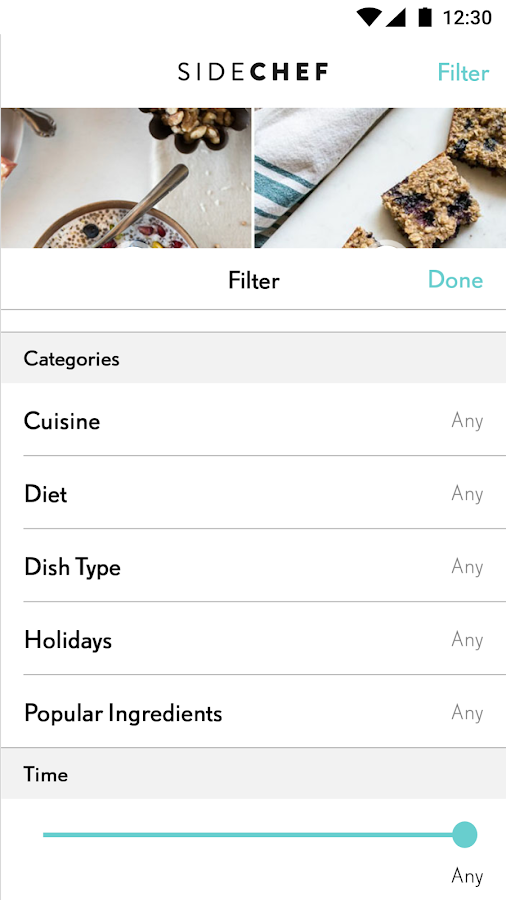 SideChef: Step-by-step cooking- screenshot