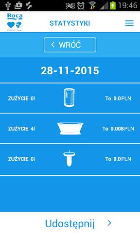 android Lubię Wodę - Roca Screenshot 4