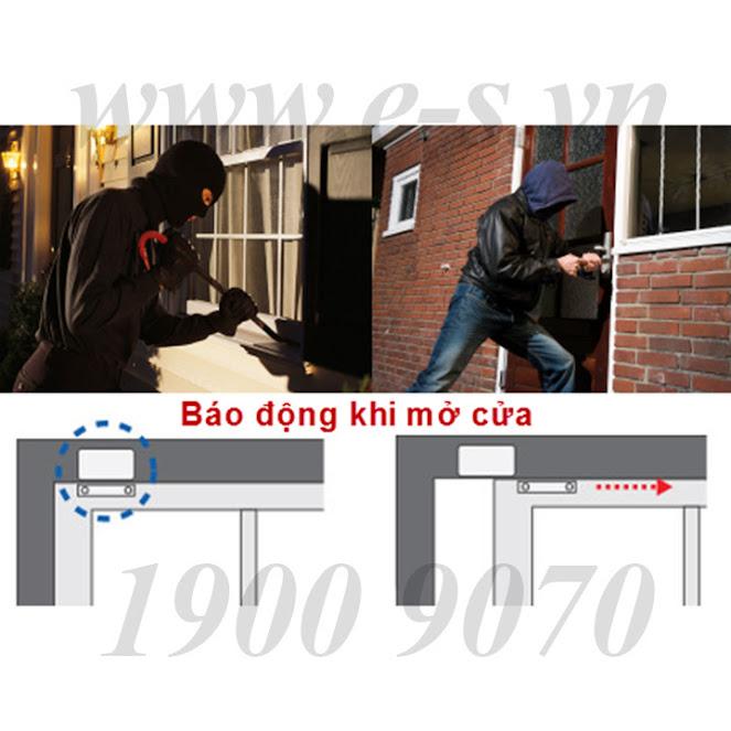 Hệ thống báo trộm qua điện thoại ES-K7