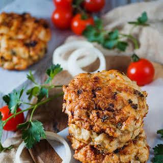 Grilled Turkey Burger.