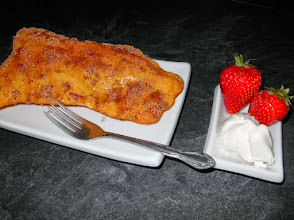Photo: Beaver tail with cream and berries