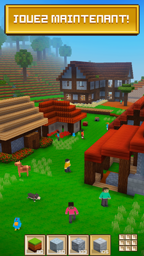 Block Craft 3D: Jeux Gratuit de Construction  captures d'écran 1
