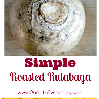 Roasted Rutabaga.