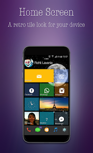 Win Theme Smart Launcher screenshot 0