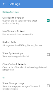 App Backup & Restore - Easiest backup tool Screenshot