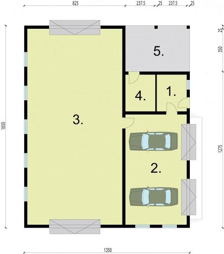 G226 - Rzut garażu