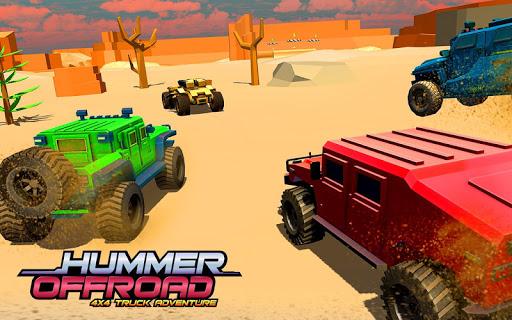 Aplikacje Offroad Hummer Stunt Tracks: Racing Games 2019 (apk) za darmo do pobrania dla Androida / PC/Windows screenshot