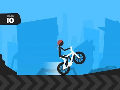 Wheelie Stickman Rider 10