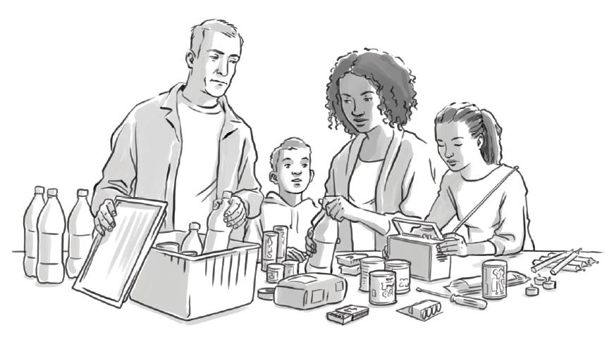 Семья и припасы