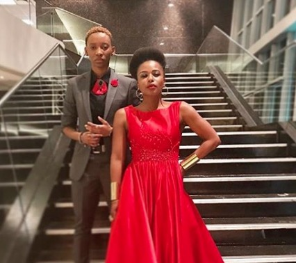 Thishiwe Ziqubu and Mandisa Nduna continue to openly express their love.