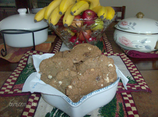 Old-fashioned Chocolate Chip Oatmeal Cookies Recipe