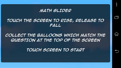 Math Glider - Addition