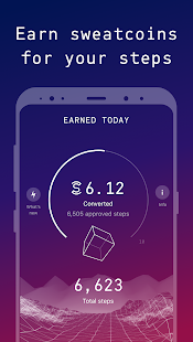 Sweatcoin — Walking step counter & pedometer app Screenshot