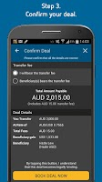Screenshot of Forex Money Transfer