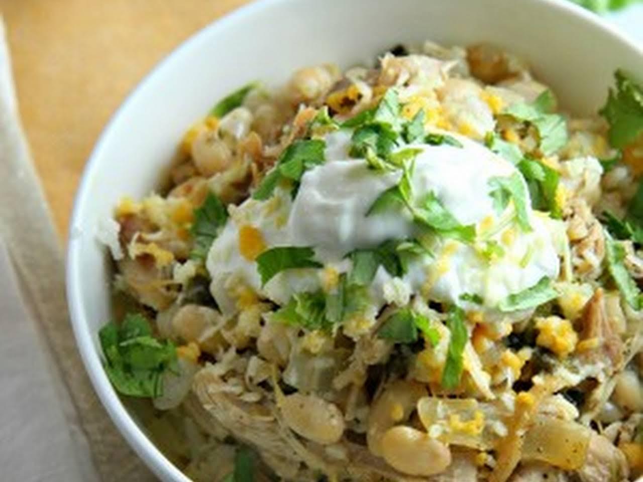 10 Best White Bean Chicken Chili Rachael Ray Recipes Yummly