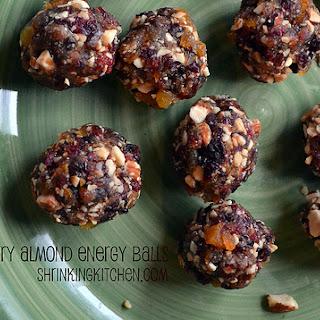 Cherry Almond Energy Balls