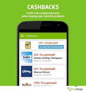 myShopi – shopping & promo Screenshot 2