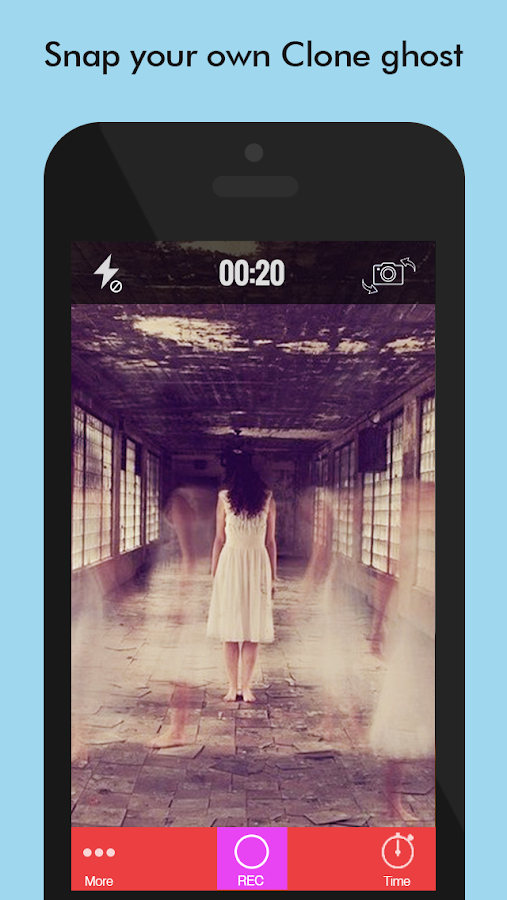 Ghost Lens - Clone & Ghost Photo Video Editor- screenshot