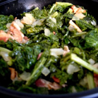 Alnisa's Quick & Tasty Mustard Greens