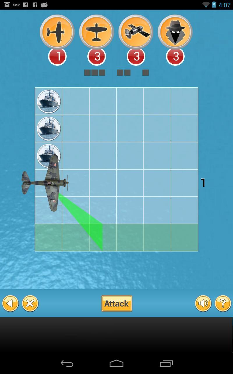 Скриншот Ship Attack - Brain puzzle
