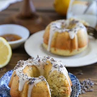 Grain-Free Lemon Poppy Seed Mini Bundt Cakes (Paleo).