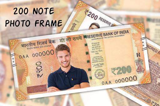 200 Note Photo Frame:New Currency NOTE Photo Frame screenshot 3
