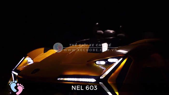 xe ô tô điện trẻ em Lamborghini NEL-603 20
