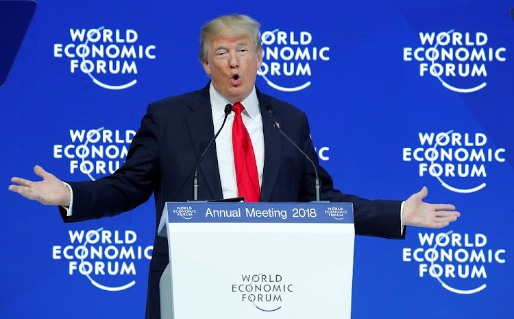 Already great: The US has jumped to the top of the competitiveness rankings, but President Donald Trump cannot claim credit. Picture: REUTERS