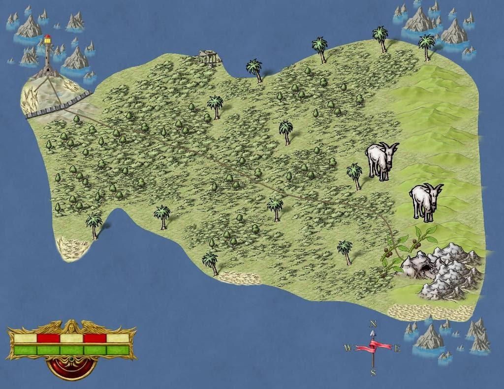 Isle of Klamacki Unlabeled