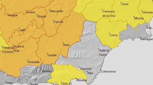 Alerta amarilla por altas temperaturas para el lunes en Almería