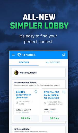 FanDuel: Daily Fantasy Sports screenshot
