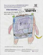 """Photo: """"Banana Ninja"""" by Ian, age 7"""