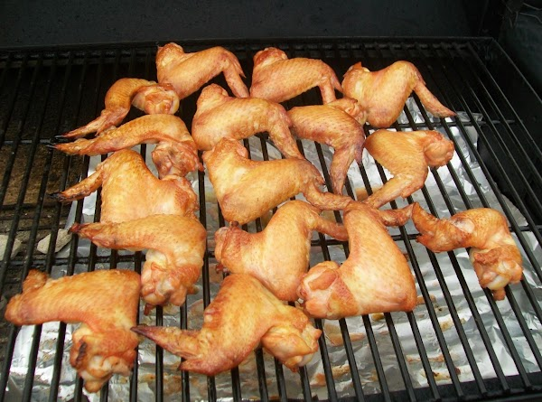 Then fire up the ol' BBQ or grille, and put the wings off to...